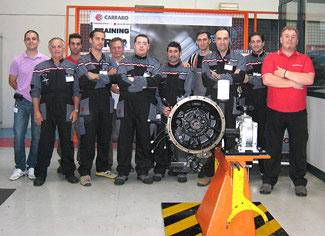 Technical Training Carraro of DDPAsas/Stage en usine CARRARO