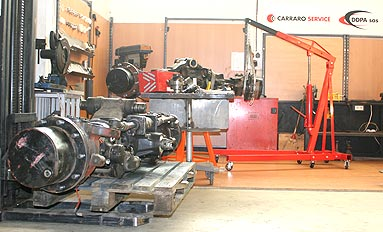 Service technique Carraro DDPA